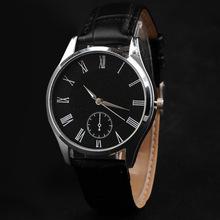 欧美休闲大气男士手表韩版时尚蓝光玻璃皮带手表百搭情侣男女手表