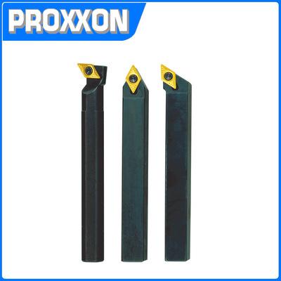 德国PROXXON中国直营 可抛式车刀组10*10mm(3支组)NO24556