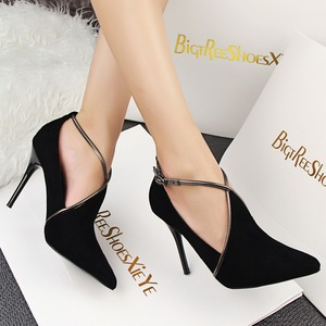 Women shoes, T-strap sexy high heels