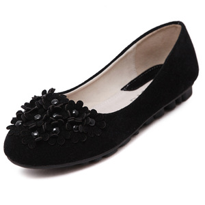 moccasin-ommino, Nubuck women Flat wholesale