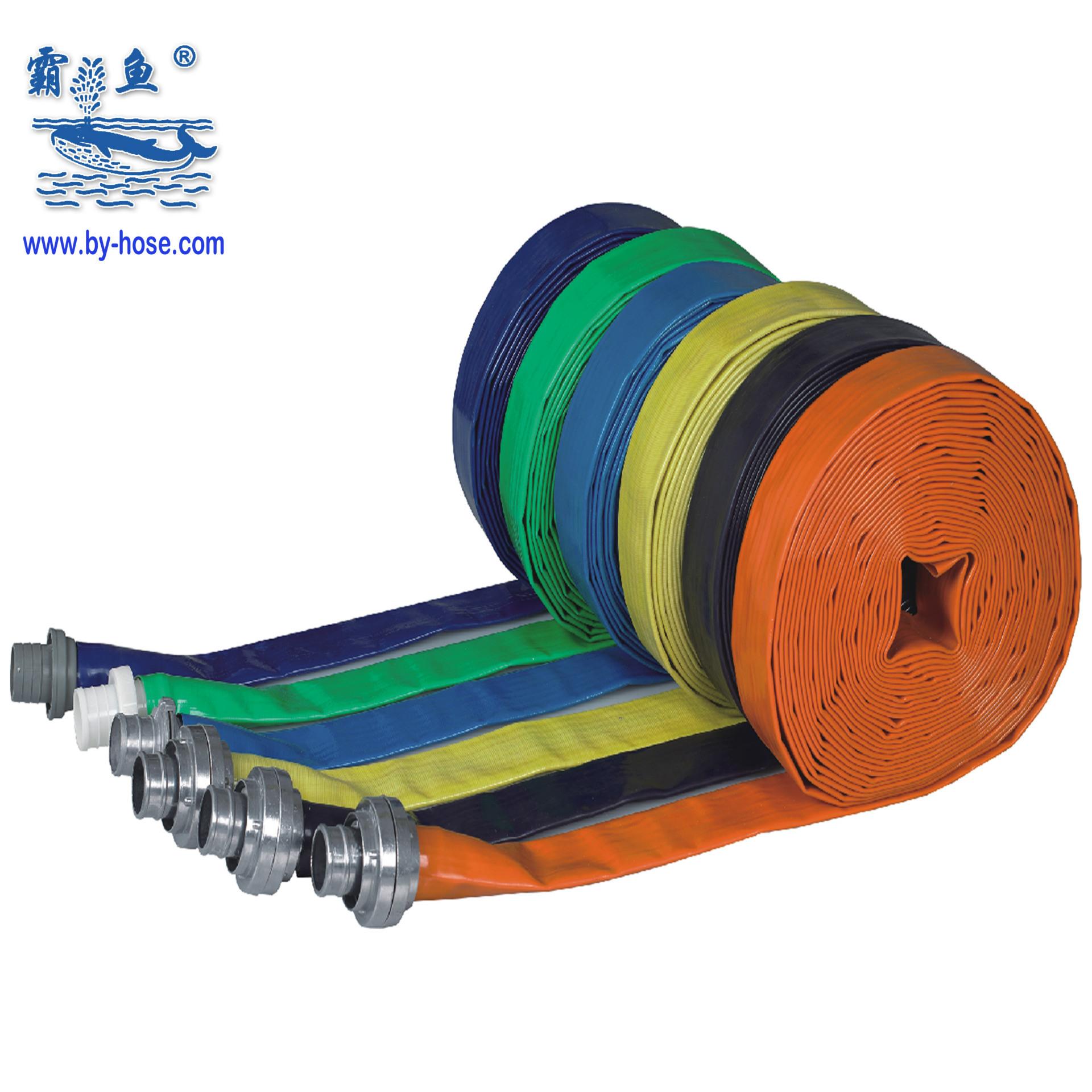 厂家直供1-12寸pvc排水管价格表 pvc农田灌溉软管 水泵管