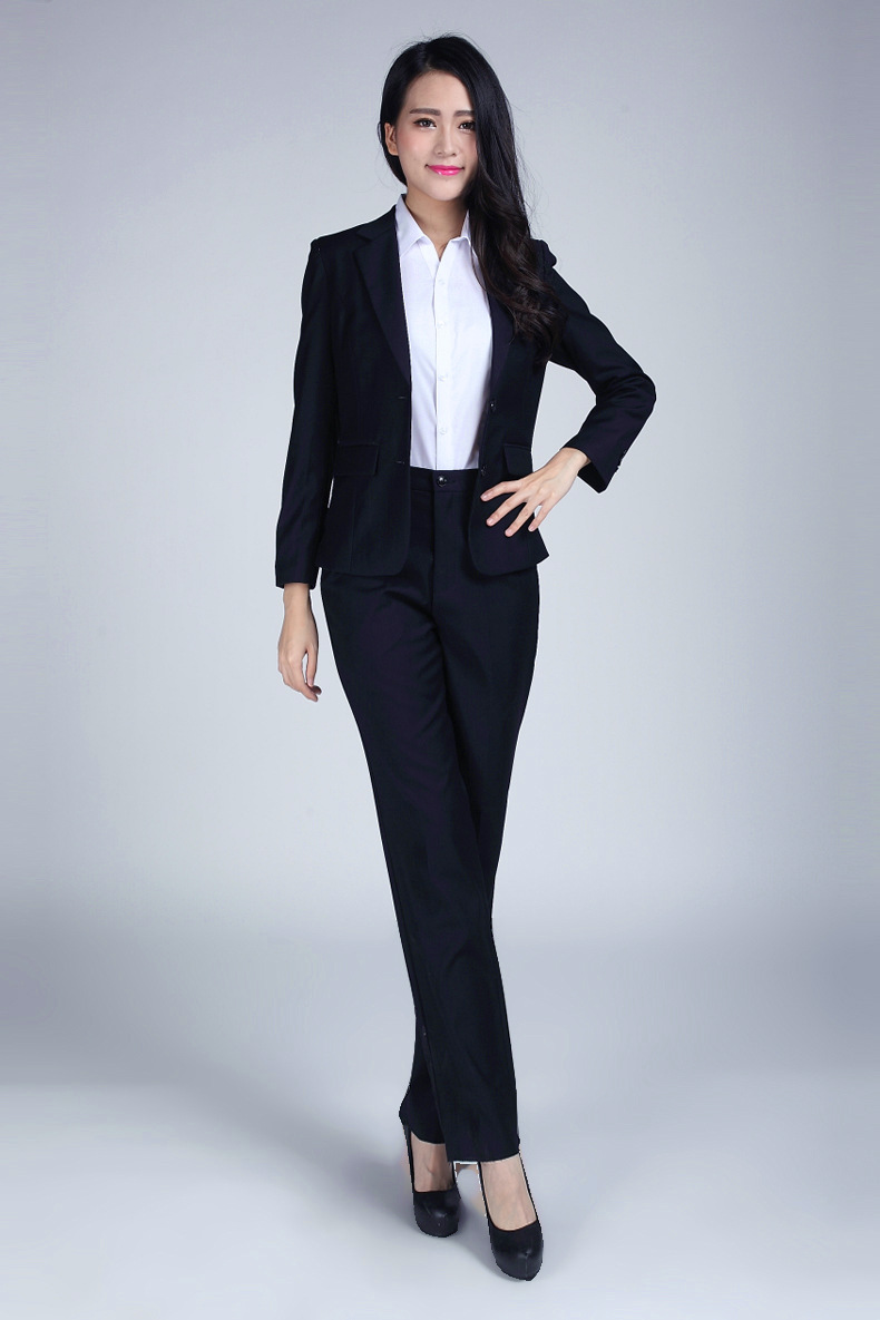 Women Ladies Ready Made Business Office Tuxedos Formal Work Wear ...