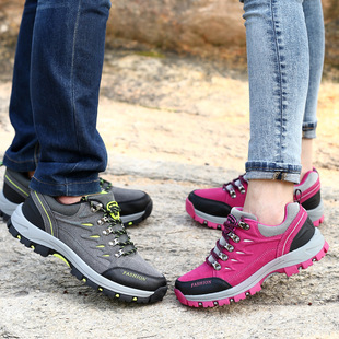Hiking shoes Hiking shoes Outdoor shoes Leisure non-slip waterproof breathable sports shoes Lovers shoes