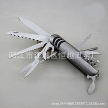 多功能小刀 不锈钢小刀 11开多用折叠刀 迷你户外小刀 厂家直销