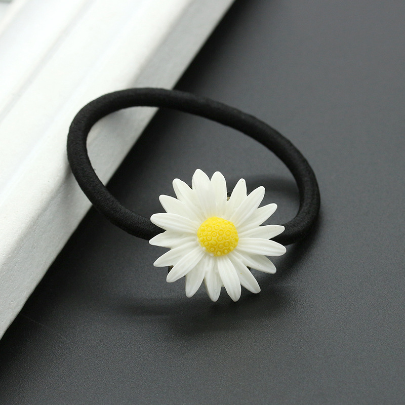 fashion daisy flower hairpin Korean new style hair accessories wholesale hair rope NHDP197173