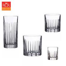 意大利RCR进口永恒水晶白酒烈酒杯威士忌杯水杯套装