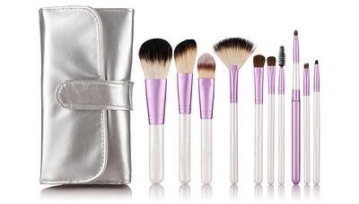 10支化妆刷套装 外贸  彩妆美妆化妆工具 现货供应批发化妆刷