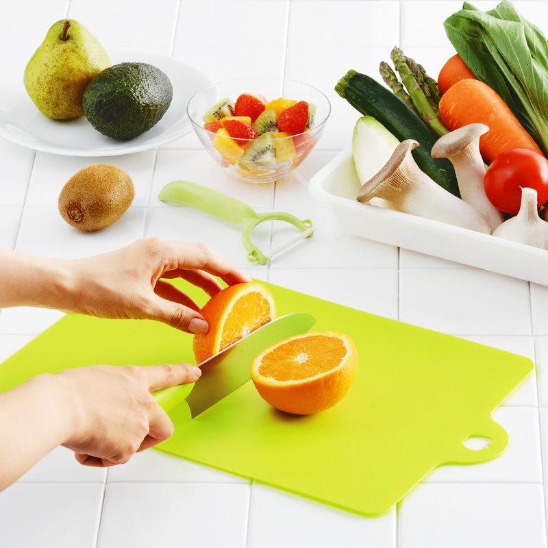 日本进口INOMATA塑料菜板 切菜板 厨房案板 创意水果砧板