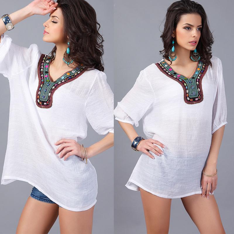 Alloy FashionLarge Women(White-L) NHDF0217-White-L