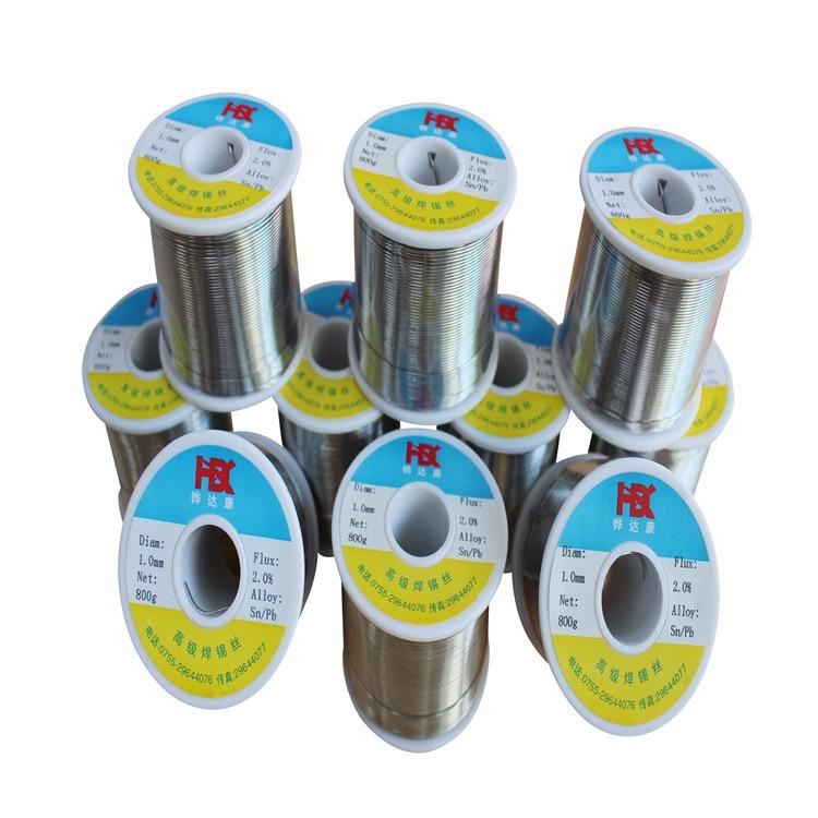 云南纯材料生产--多种合金低温焊锡丝/低温焊锡线(熔点低138度)