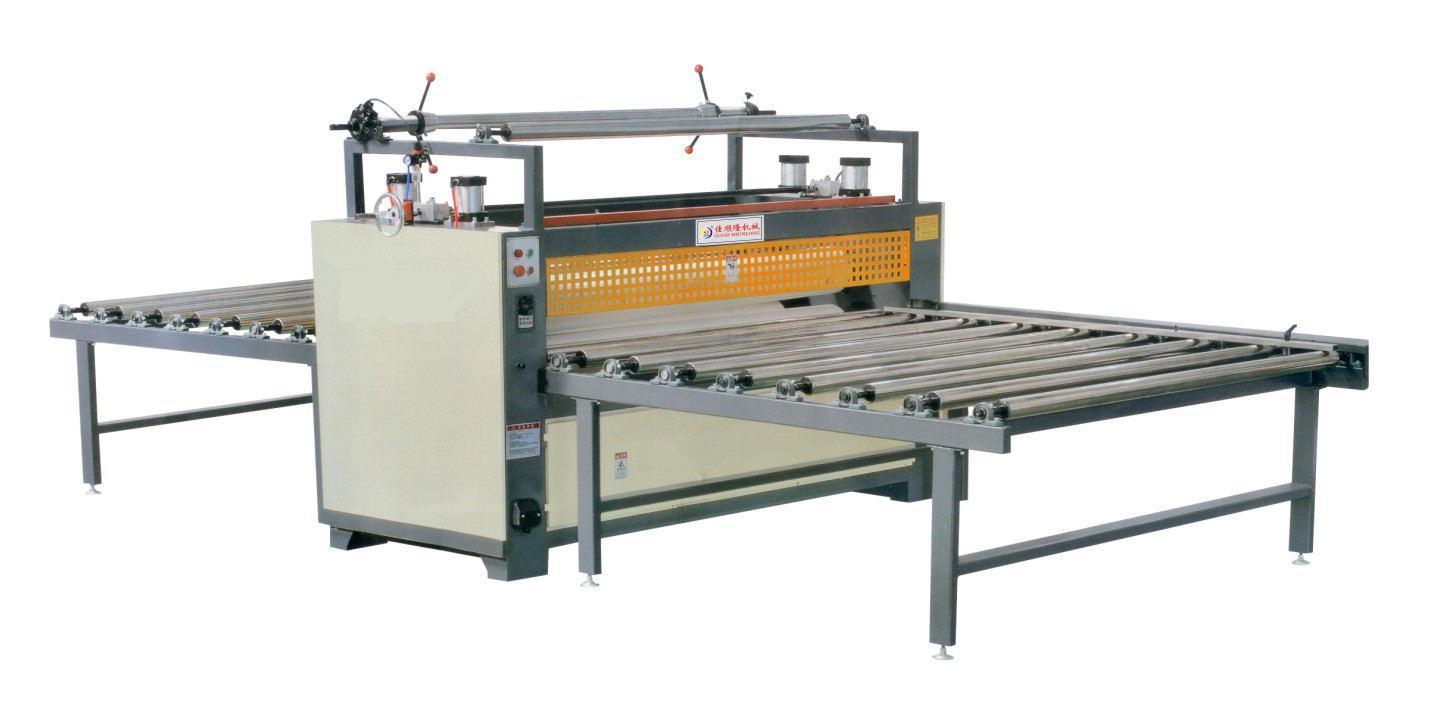 板材表面贴膜机(保护膜)PE,PT膜贴面机