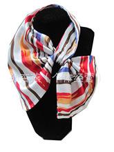 空姐銀行 女士百變絲巾 臺灣魔術巾綢緞絲巾裝飾職業101-120