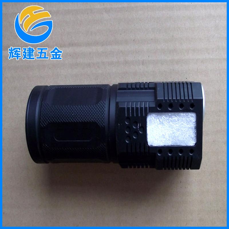 厂家承接来图来样cnc加工 手电筒配件外壳非标加工件 cnc精密加工