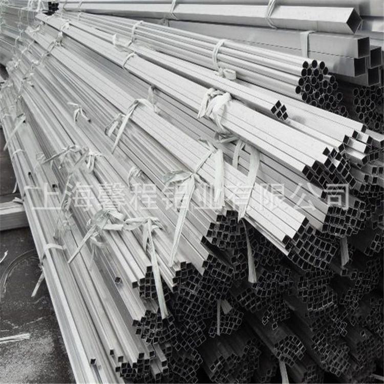 供应优质LY12铝方管定尺LY12铝矩形管