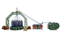 大型绳缆船缆编织机高速编织机大八股中八股小八股