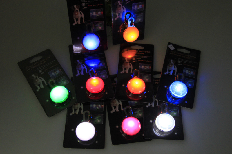Hot Sale! Led Pet Dog Night Light Safety Circular Pendant