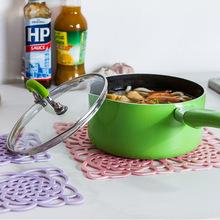 创意新款淘爆款硅胶防烫隔热垫长方形防滑杯垫餐具沥水锅碗盘餐垫