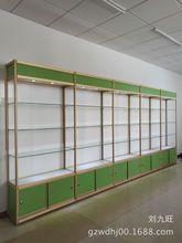 精品展示柜玻璃货架 钛合金货架汽车用品展示架 化妆品展柜