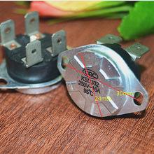 KSD302常閉型(四腳)16A250V為儲水式電熱水器專用雙極溫控器