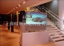 裸眼3D全息橱窗 互动橱窗全息投影展示 背投式全息橱窗透明悬空