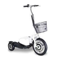 厂家直销新款小型灵活三轮电动滑板车成人站立老年接送代步车