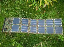 便携式40W太阳能Sunpower高效柔性折叠充电包太阳能发电板电池板
