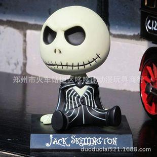Shaking his head doll Jack Christmas Nightmare Christmas Jack Cartoon car ornaments Shaking his head car doll