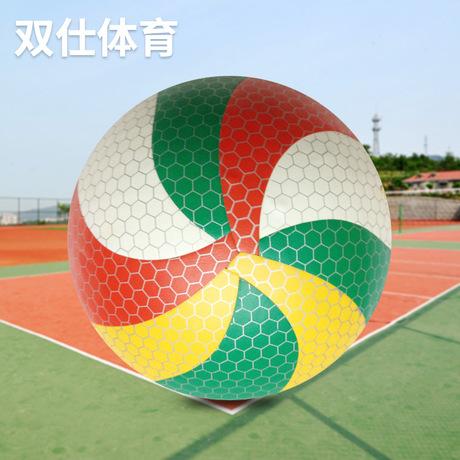 高品质新款耐磨PU5号排球水上PU纯手工无缝排球