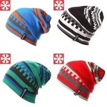 0063 双层针织  SNSUSK 双面戴亲子帽毛线帽子针织帽滑雪帽