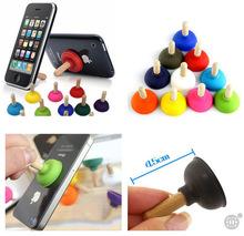 热卖 韩国创意 小礼品 多色 马桶抽手机座 手机支架 可印logo