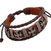 Punk leather bracelet jewelry skull bracelet NHPK193396