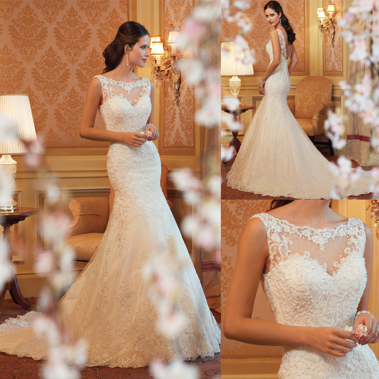 Lace-Wedding-Dresses-2015-Floo