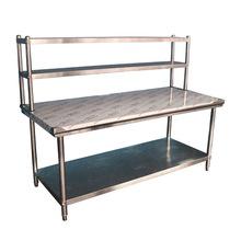 立架不锈钢工作台组装桌子操作台厨房设备奶茶料理台打包台