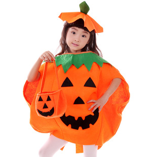 Kids Pumpkin Halloween Costume
