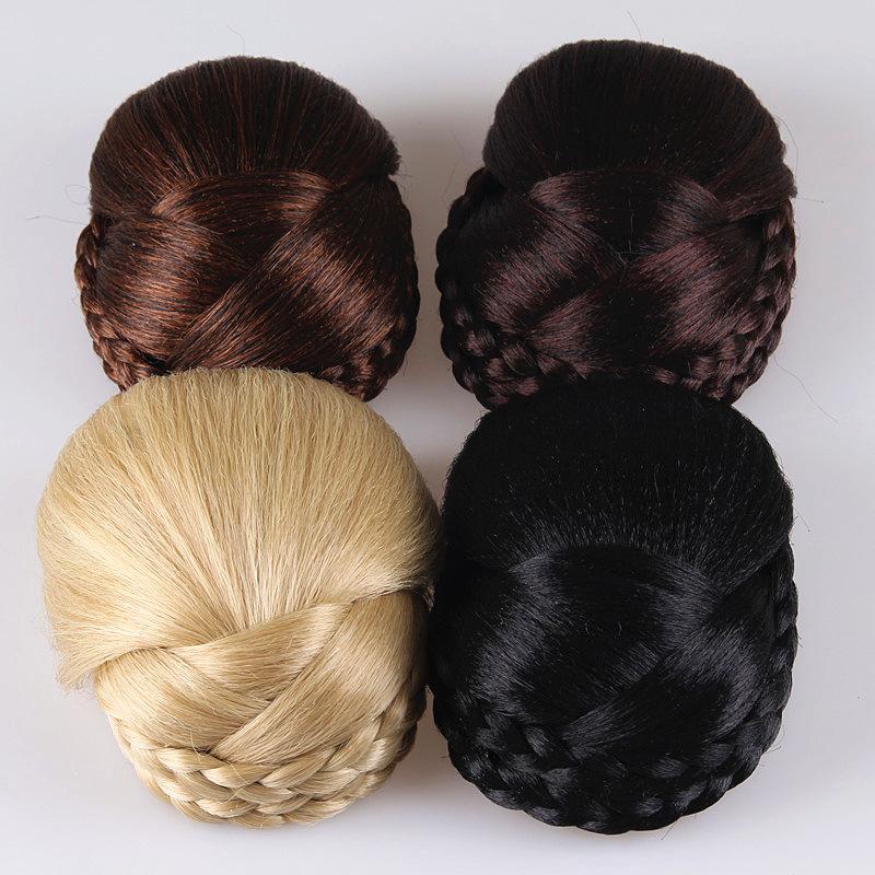 欧美直销新款时尚气质假发发包 古装影楼盘发女式发包 假发发髻女