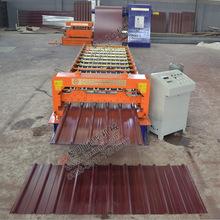 出口常用彩鋼瓦設備 1000型彩鋼瓦滾壓成型機 活動房屋專用機械