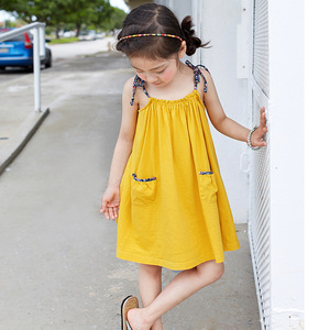 New summer Kids Girls Korean dress children dress skirts on behalf of a A190