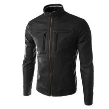 Áo khoác da nam thời trang, kiểu dáng ấm áp, thiết kế giữ thân nhiệt