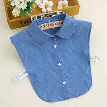 秋冬季韩国白马衬衫假领子女士衬衣领子假领百搭假衣领娃娃领B111