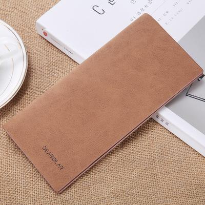 Nhật bản và Hàn Quốc phiên bản của người đàn ông mới của dài ví siêu mỏng giản dị người đàn ông trẻ tuổi của nhiều thẻ ví thư mục các nhà sản xuất bán buôn