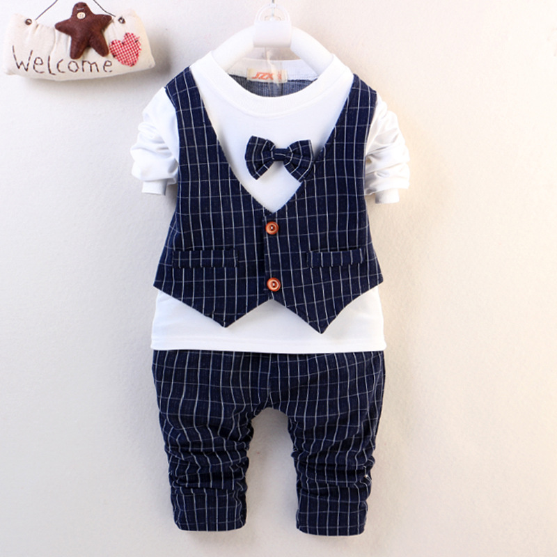 5afc450f4 2PCS Baby Boys Clothes Outfit Kids Boy Clothing Wedding Party Suits Outfits  Sets