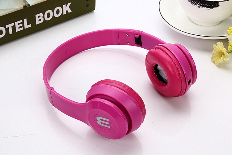 Bluetooth headphones for girl red - kids bluetooth headphones for iphone