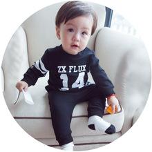 MINI貝貝城 春款童裝運動套裝 嬰幼兒寶寶衣服0-3歲外貿童裝