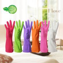 舒太太 超弹防割洗衣洗碗厨房清洁超耐用不粘手丁腈橡胶家务手套