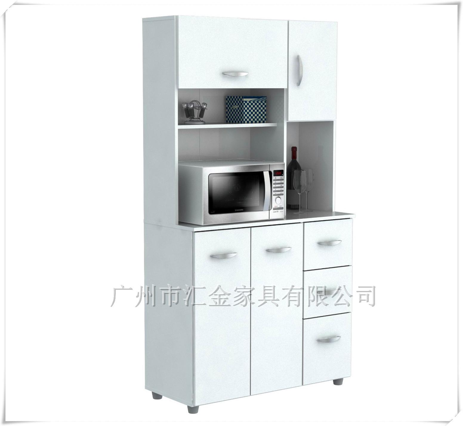 新品推荐 www.35222.com时尚简约可收纳可储物餐具 带柜门大容量餐柜储物柜