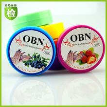 廠家OBN洗甲巾除洗指甲油洗甲棉營養6種果味32片美甲卸甲巾批發