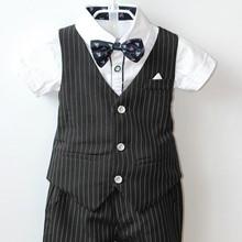 代理加盟童套装男童2020夏秋新款韩版儿童两件套装1201马甲长裤