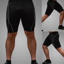 外贸新品EBAY供货16秋排汗快干男士运动短裤冬新款紧身短裤5101