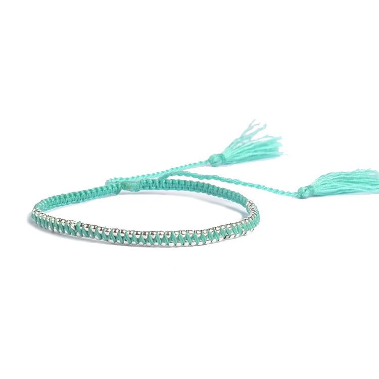 Crystal&CZ Bohemia Tassel bracelet(40) NHGW0402-40