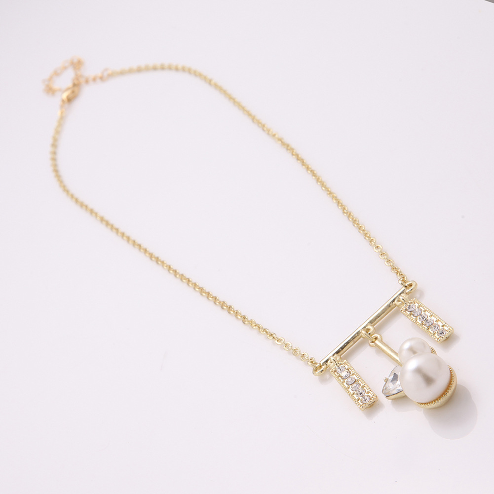 Womens tassel plating alloy Necklaces NHXS127298